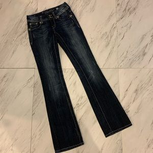 Miss Me Angel Wing Flap Bootcut Jeans